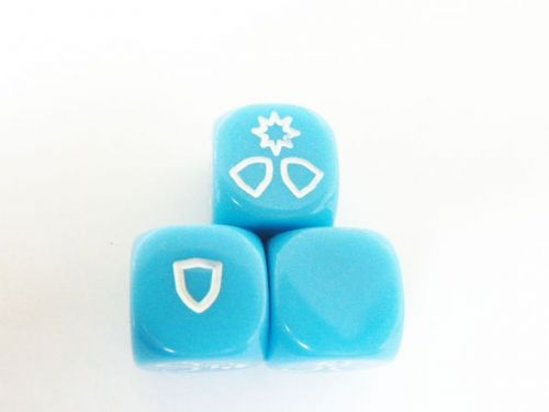 md - defence dice (blue)
